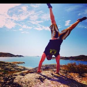 Sweden handstand