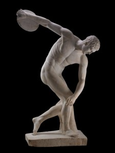 marble statue thrower