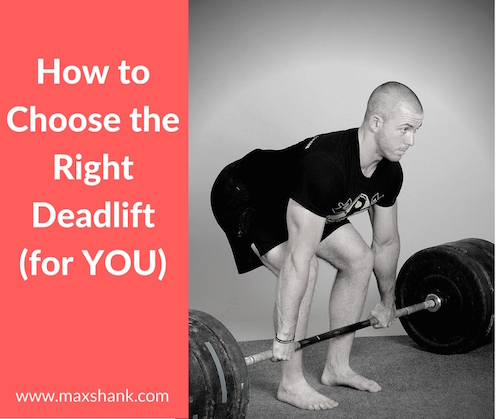 Maximize your deadlift