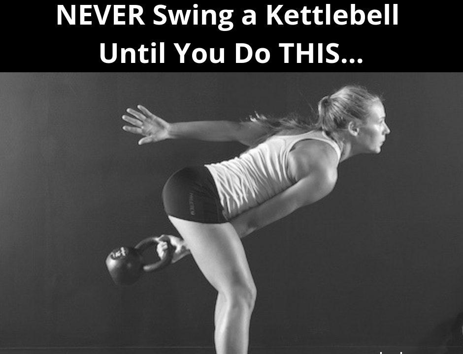 Kettlebell Hip Hinge Prep