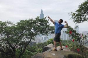 Max Flexing on Mountain