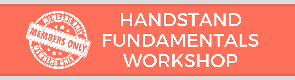 Handstand Fundamentals Members: Video Gallery