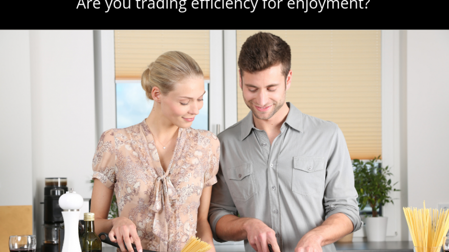 Cooking at home vs outsourced